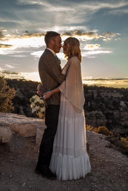 Grand Canyon Wedding Photographty Shoshone Point 6