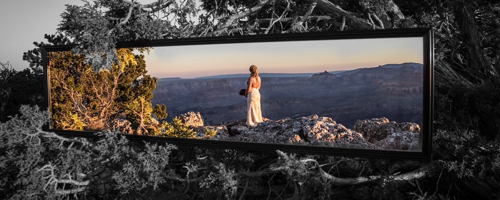 Grand Canyon Wedding Mirror